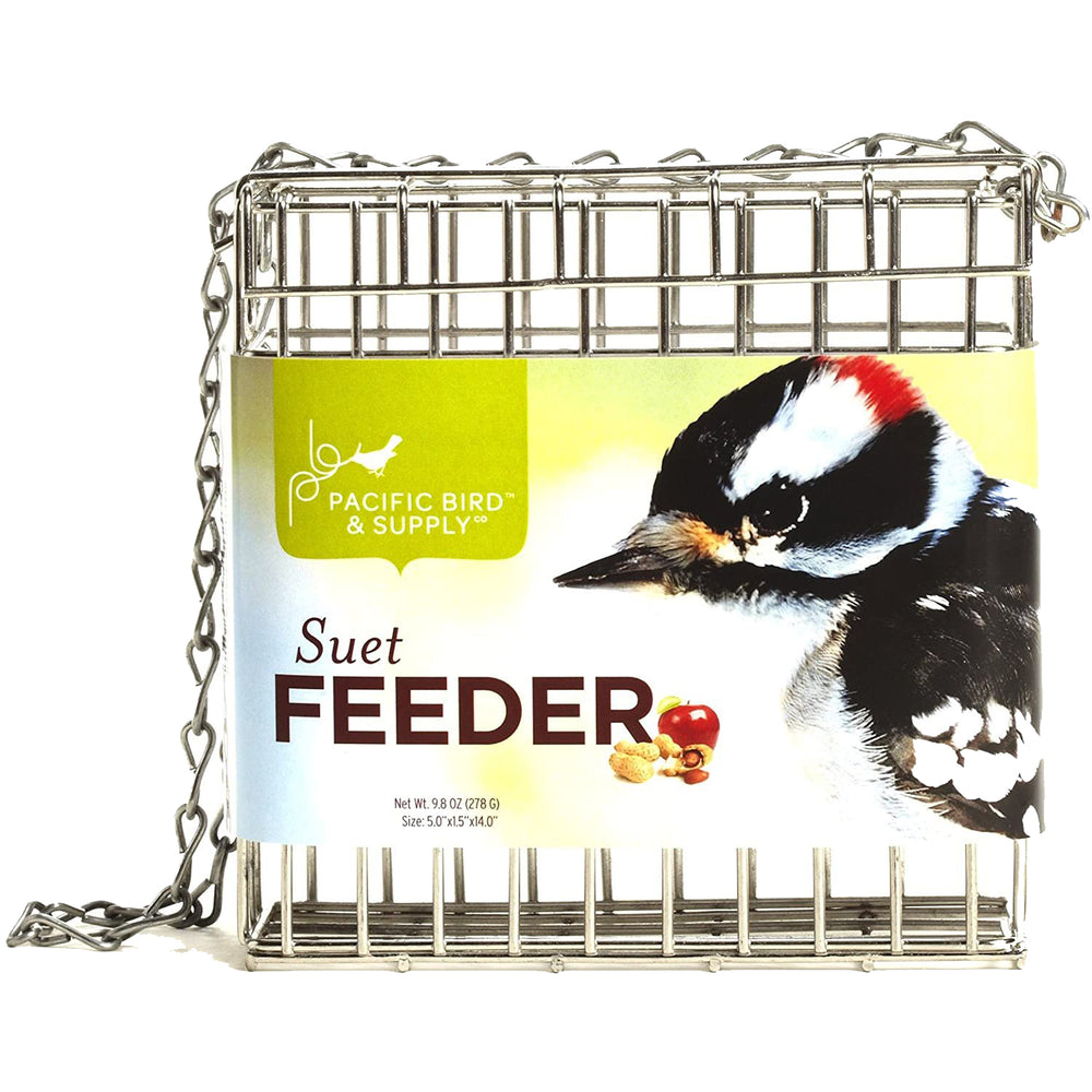 Load image into Gallery viewer, Suet Feeder Cage SS