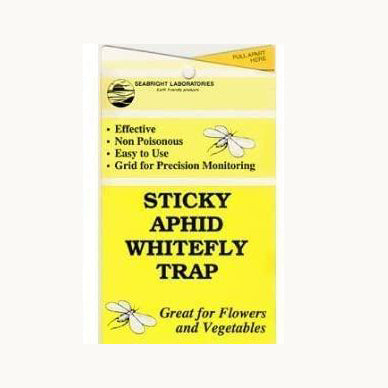 Sticky Yellow Aphid Whitefly Trap set/5