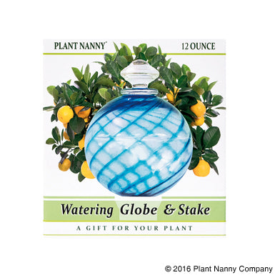 Load image into Gallery viewer, Plant Nanny Watering Globe & Stake Set