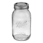 Ball 32oz Regular Mouth Jars Case of 12