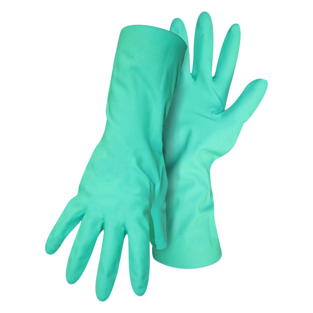 Boss Green Nitrile Gloves - L