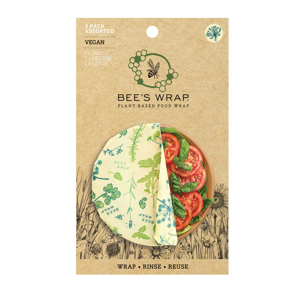 Bee's Wrap Herb Garden *Plant Based* Assorted 3 Pack