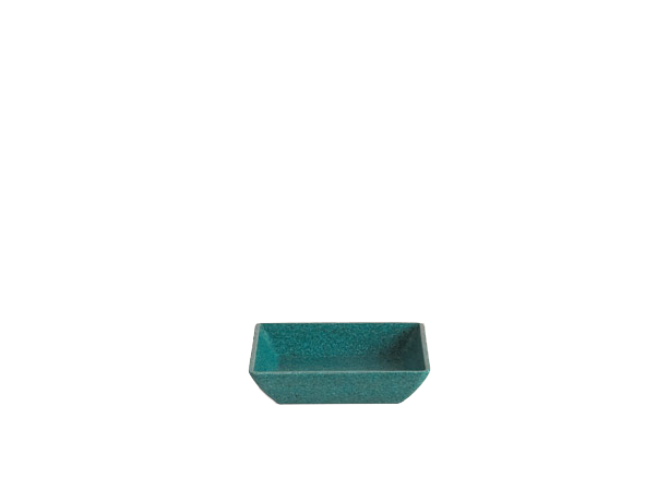 Quadra Single Saucer - Turquoise