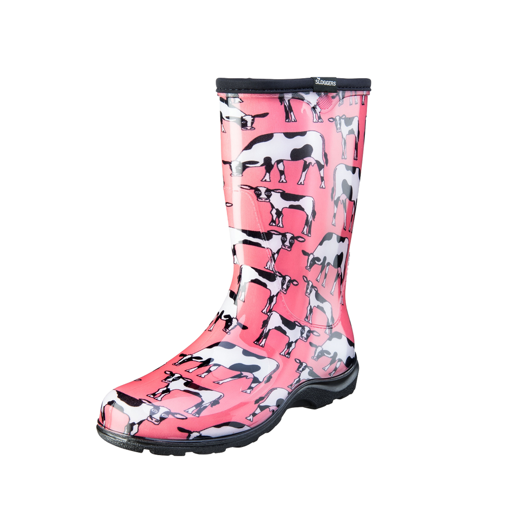 Sloggers Boots - Cowbella Pink