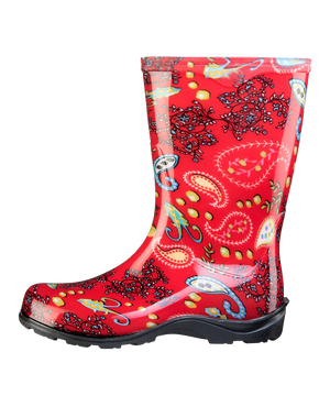 Sloggers Boots - Paisley Red