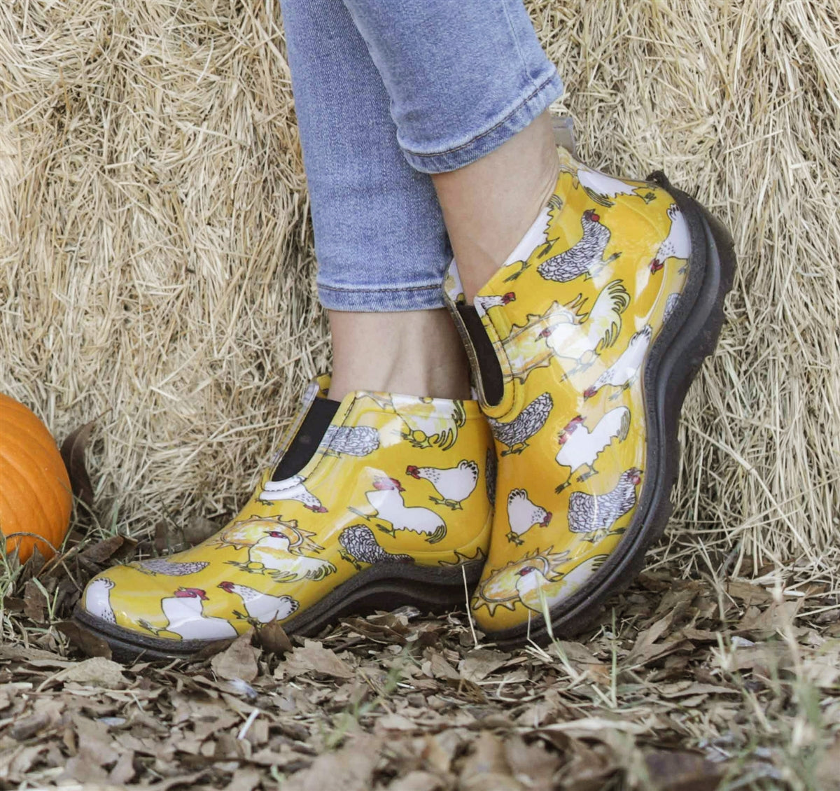 Sloggers Ankle Boots - Yellow Chicken