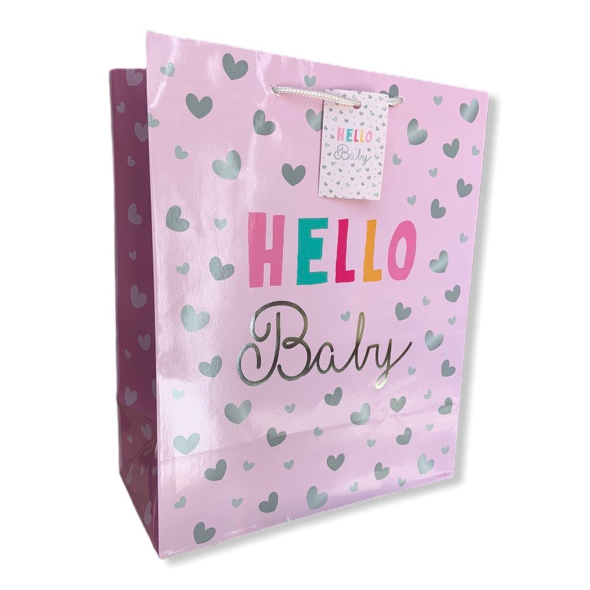 Hello Baby Gift Bag Large