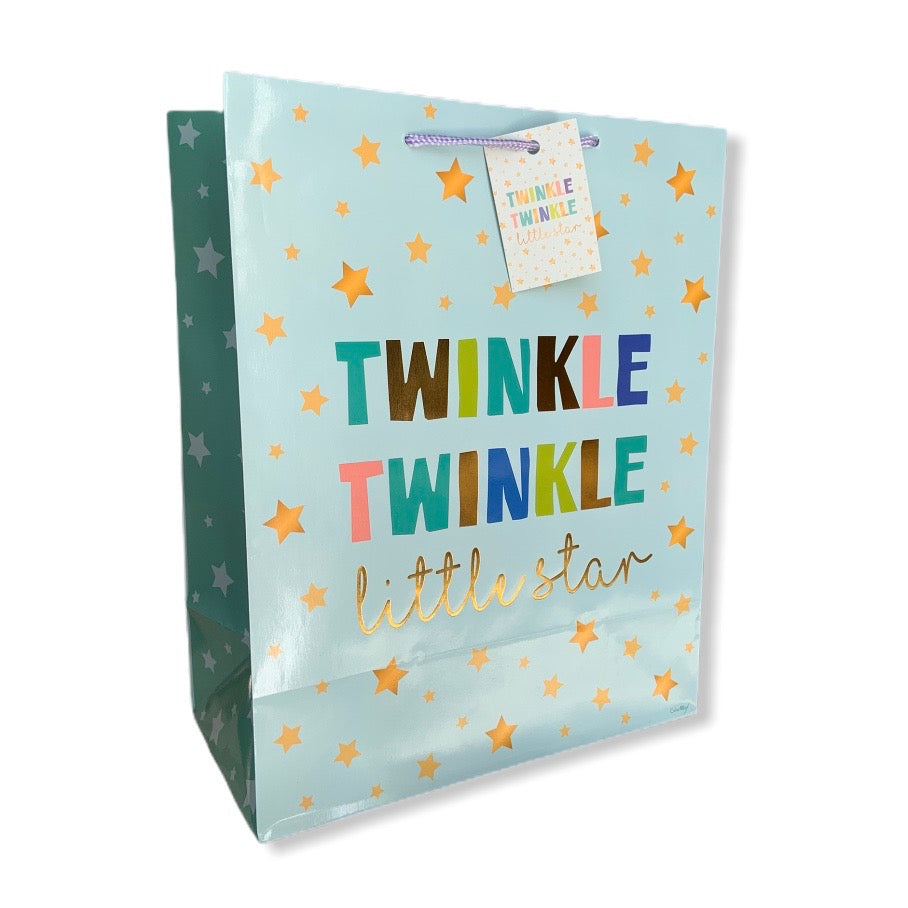 Twinkle Twinkle Little Star Gift Bag Large