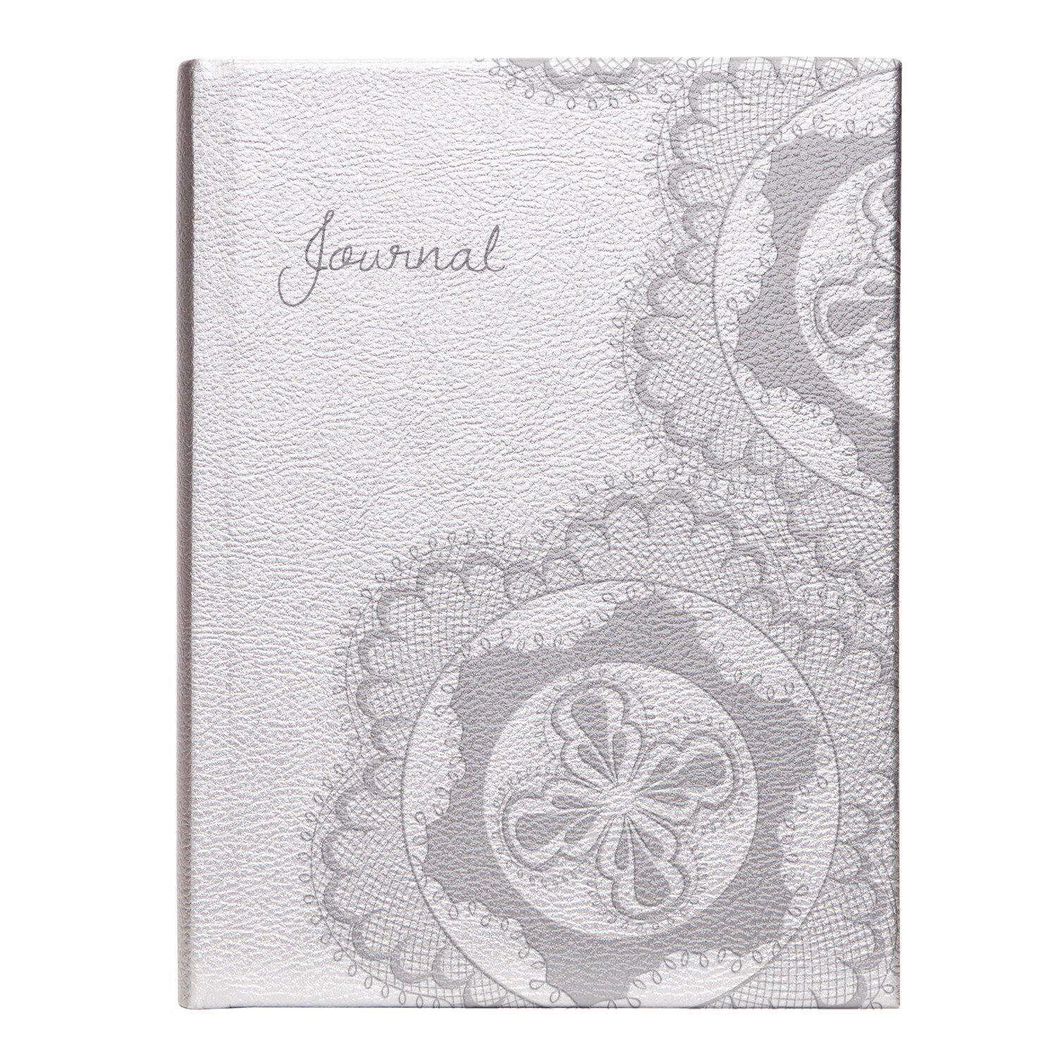 "alt=""Silver Regalia bound personal journal"""