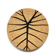 Load image into Gallery viewer, Lau Kalo Print Cork Coasters Set of 2