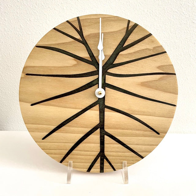 Kalo design Solid Wood Round Clock 10