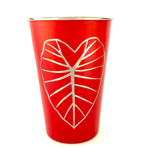 Kalo Laser Engraved Stainless Steel Pint Cup 16oz