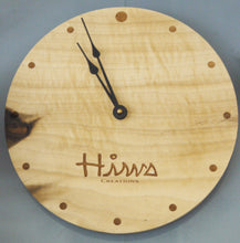 Load image into Gallery viewer, Custom Laser Engraved Image Wood Round Clock