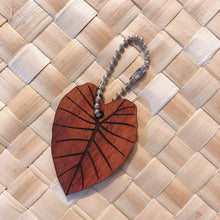 Load image into Gallery viewer, Kalo Hawaiian Koa Wood Keychain