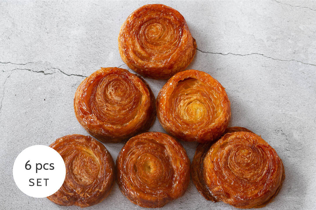 Kouign Amann Set (6 pcs)