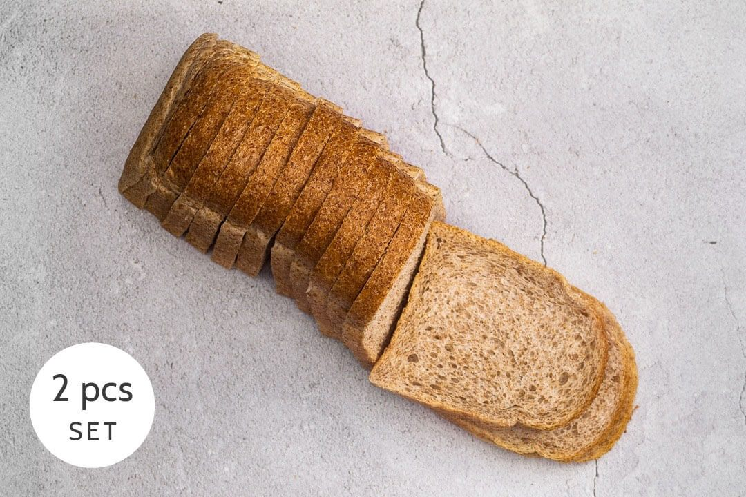 Whole Wheat Loaf Set (2 pcs)
