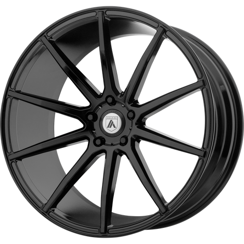 brand asanti black and model aries wheel in a finish of gloss black with a model number of ab20