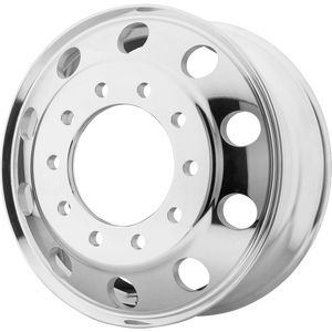 brand atx otr series and model baja lite wheel in a finish of polished - inner with a model number of ao200