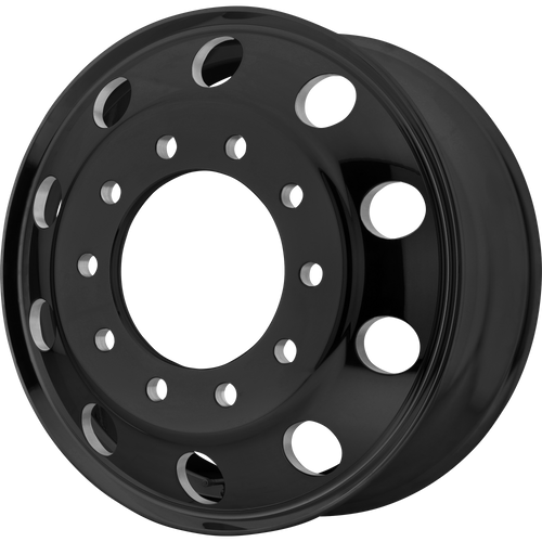brand atx otr series and model baja lite wheel in a finish of satin blackout with a model number of ao200