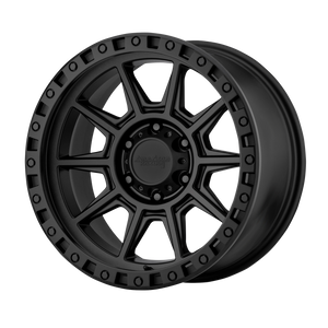 brand american racing and model ar202 wheel in a finish of cast iron black with a model number of ar202