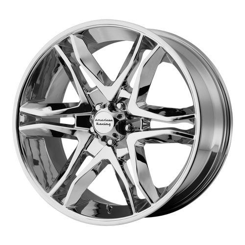 brand american racing and model mainline wheel in a finish of chrome with a model number of ar893