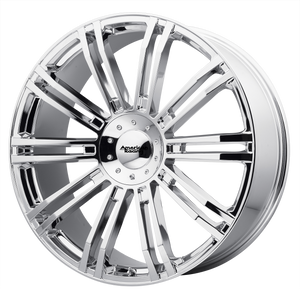 brand american racing and model d2 wheel in a finish of chrome with a model number of ar939