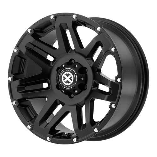 brand atx series and model yukon wheel in a finish of cast iron black with a model number of ax200