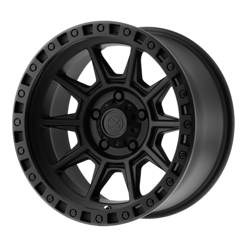 brand atx series and model ax202 wheel in a finish of cast iron black with a model number of ax202