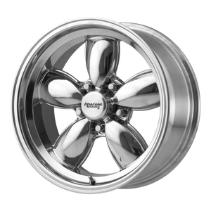 brand american racing and model vn504 wheel in a finish of polished with a model number of vn504