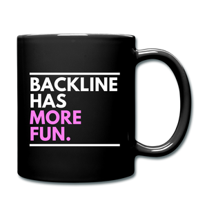 Backline Lefty Mug - black