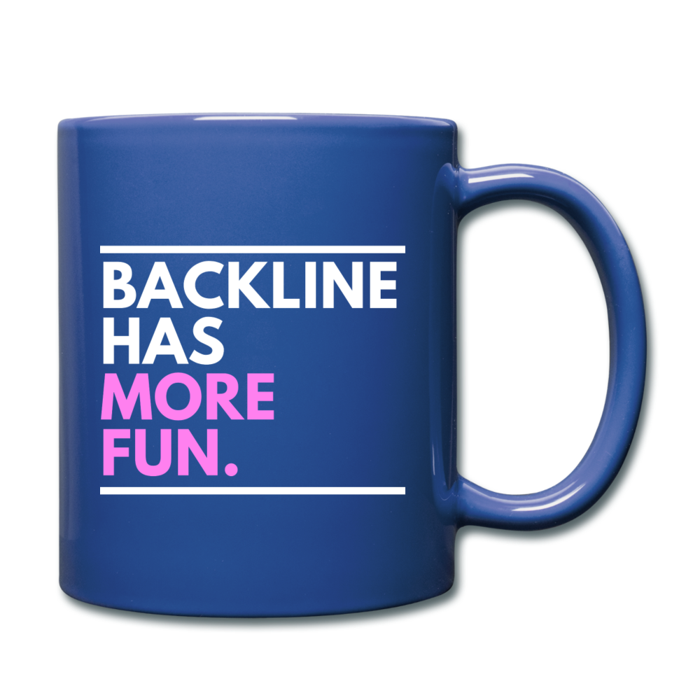 Backline Lefty Mug - royal blue