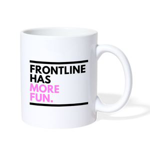 Frontline Lefty Mug - white