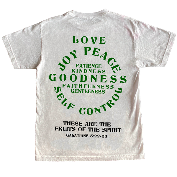 Fruits Of The Spirit Tee White