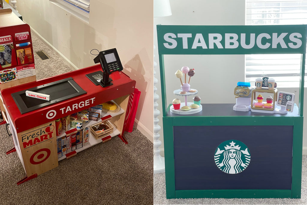 Target and Starbucks Mini Mart