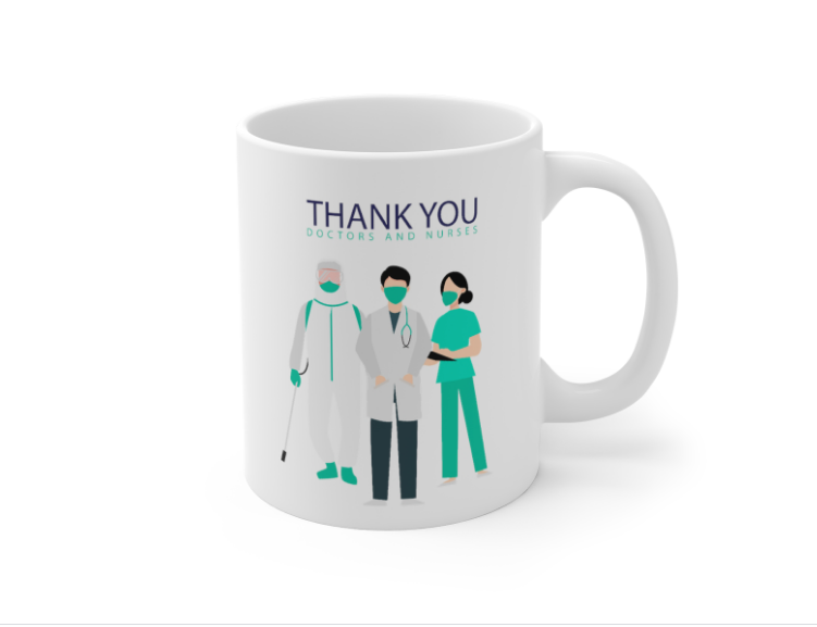 Thank you Doctors and Nurses Coffee Mug