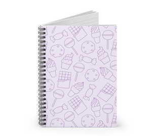 Candy and Sweets Notebook