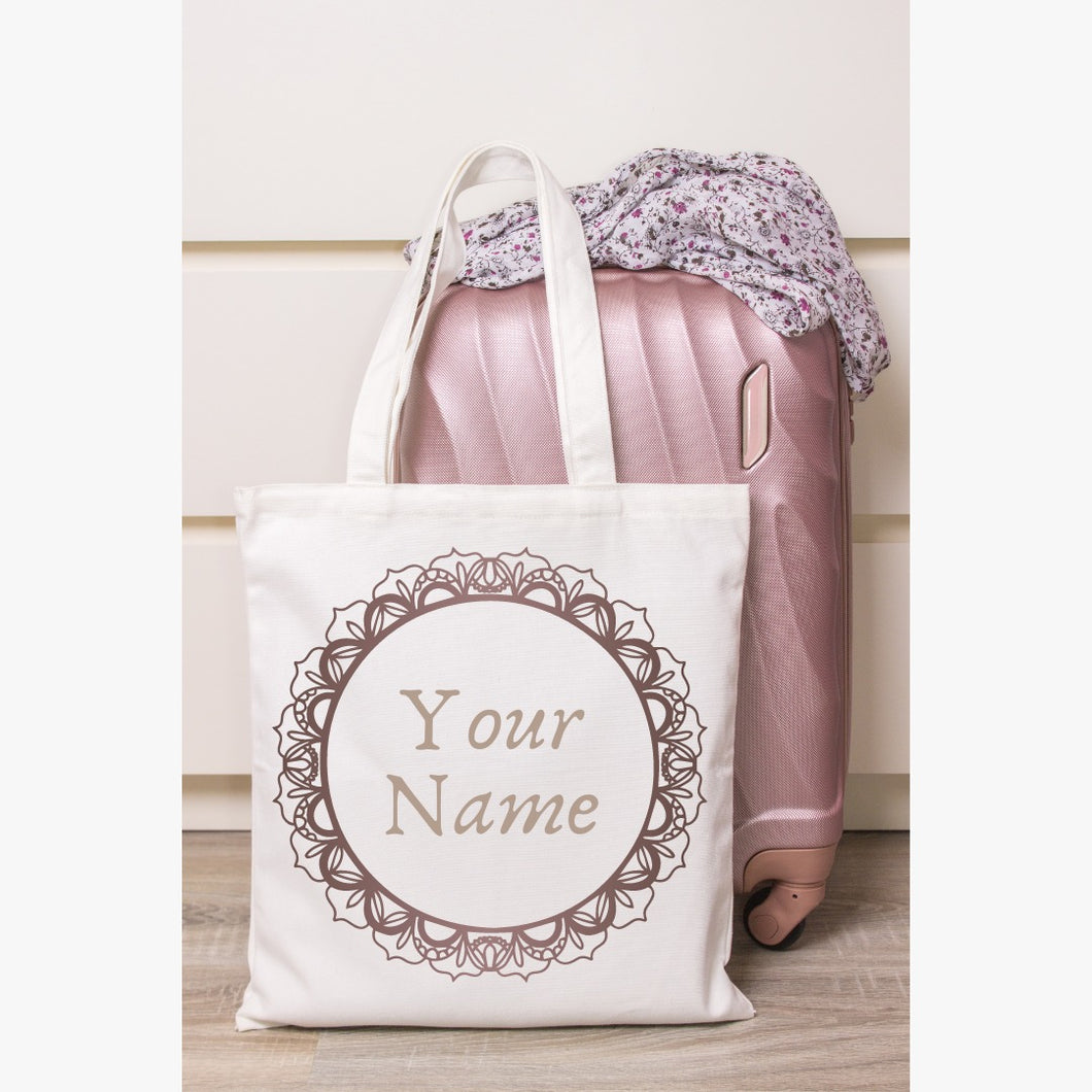 Customized Tote Bag with your name