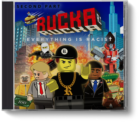 Everything is Racist - Second Part - CD - ruckas-world