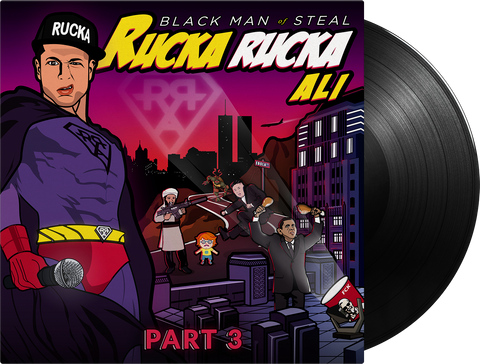 Black Man of Steal - Vinyl - Part 3