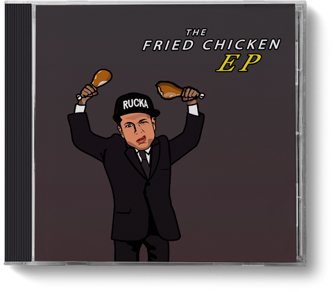 The Fried Chicken EP - CD - ruckas-world