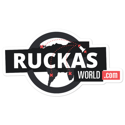 Rucka's World - Sticker