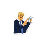Don Loves Twitter - Sticker - ruckas-world