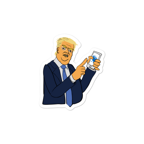 Don Loves Twitter - Sticker