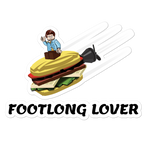 Footlong Lover - Sticker