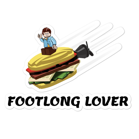 Footlong Lover - Sticker - ruckas-world