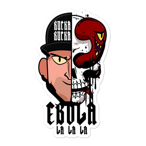 Ebola Skull - Sticker - ruckas-world