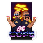 Go Cops! - Supreme Sticker - ruckas-world