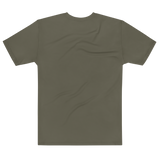 Big Ebola - Military Green Tee - ruckas-world