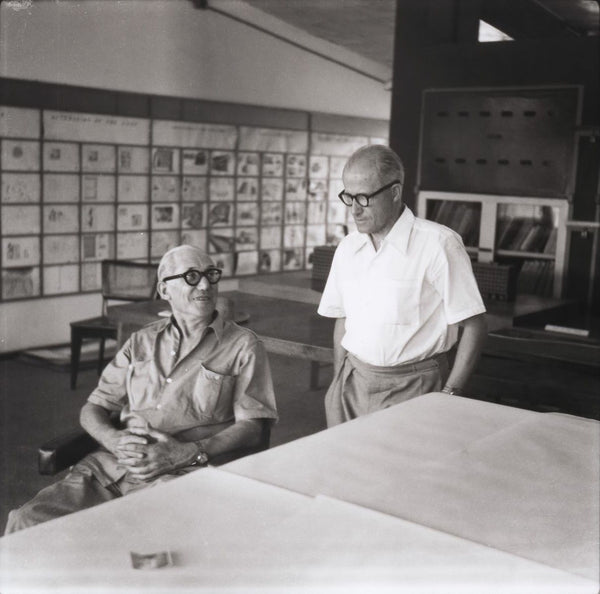 Pierre Jeanneret and Le Corbusier
