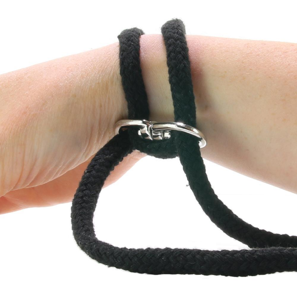 Cotton Wrist or Ankle Cuffs in Black